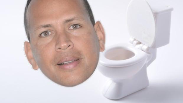 ARod Toilet