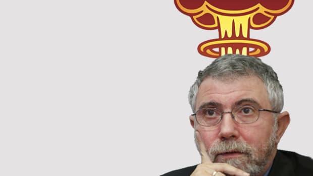 Krugman explode
