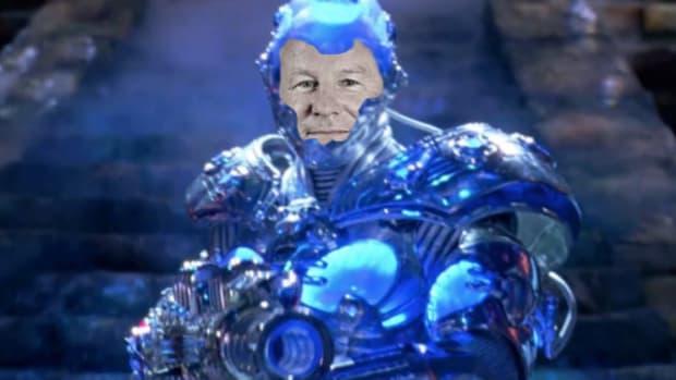Neil Woodforf Mr Freeze