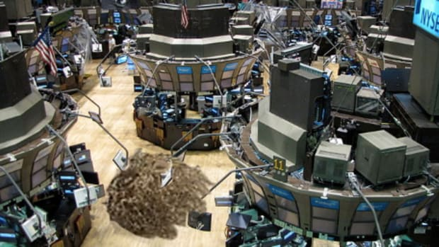 NYSE tumbleweed
