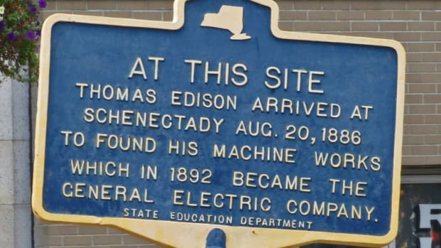 "Dad, what was ""General Electric""? And why are we in Schenectady?"