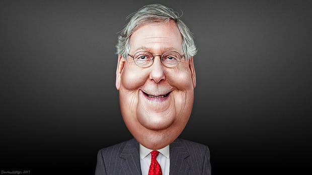By DonkeyHotey (Mitch McConnell - Caricature) [CC BY 2.0], via Wikimedia Commons