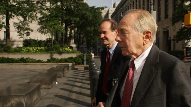 Former AIG CEO Hank Greenberg (Getty Images)