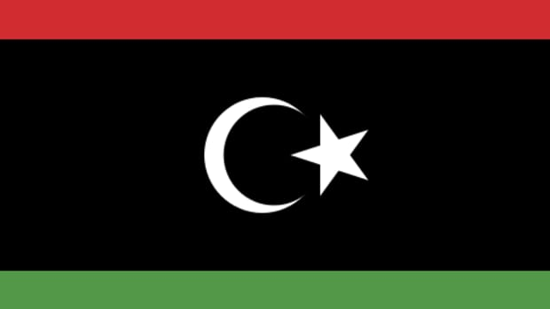 Y'all got luck with this one. By VariousThe source code of this SVG is valid.This vector image was created with a text editor. (File:Flag of Libya (1951).svg) [Public domain], via Wikimedia Commons