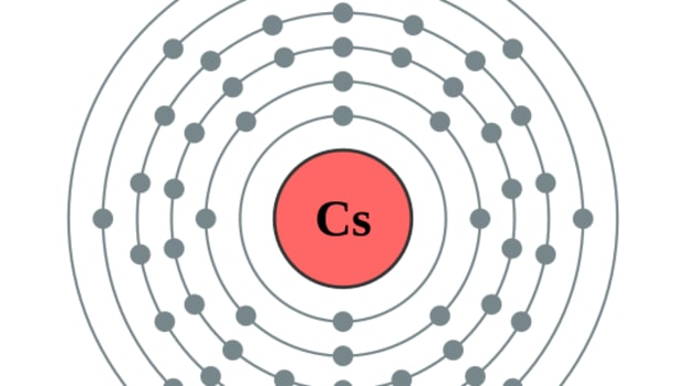 By Pumbaa (original work by Greg Robson) (File:Electron shell 055 caesium.png) [CC BY-SA 2.0 uk], via Wikimedia Commons