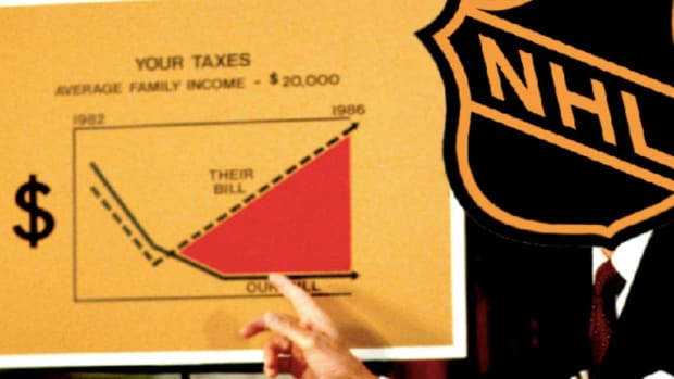 NHL bad at business