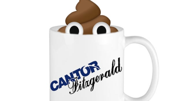 Cantor Fitzgerald poop Mug