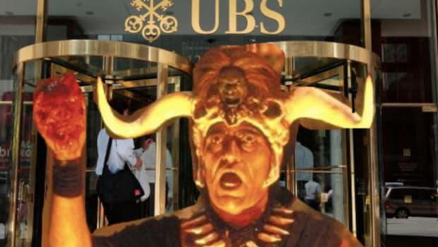 UBS human sacrifice