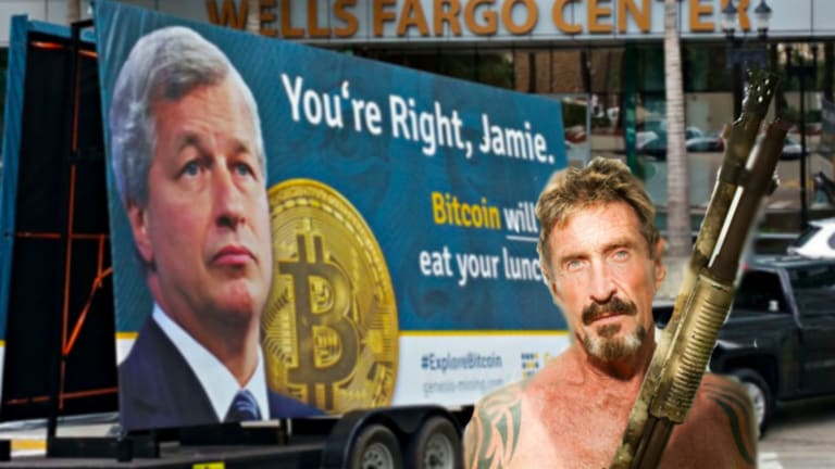 John McAfee (Allegedly) Didn't Tell Two Interested Parties About His CryptoPromotion Side Hustle