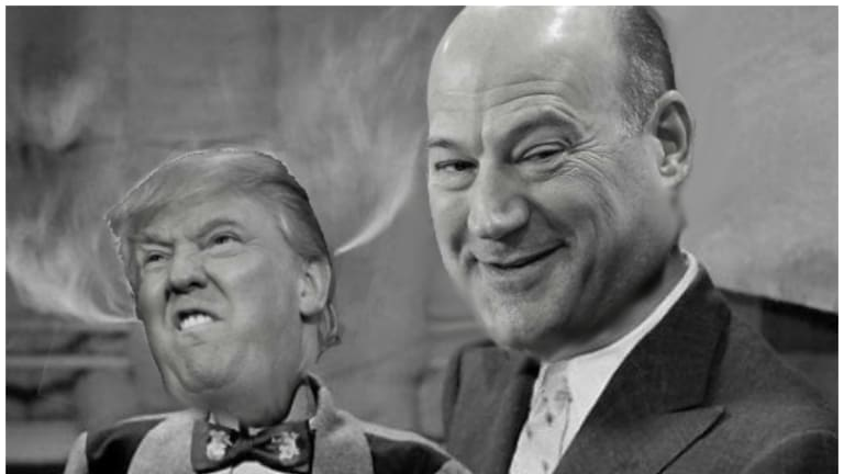 Gary Cohn Tells The BBC That Donald Trump Isn't Not A Racist So Now There Are More Tariffs