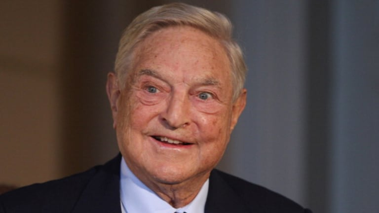 George Soros Says Nice Thing About The President, Causes Nasty Case Of Vertigo For Fox News
