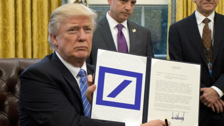 Deutsche Bank Can Finally Stop Worrying About Whether It's Gonna Get Subpoenaed For That Trump Stuff