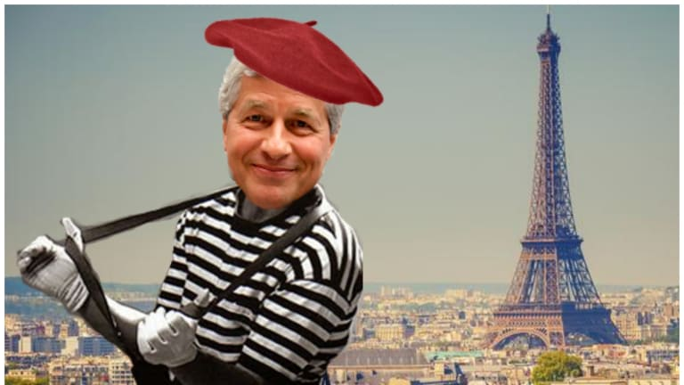 If Theresa May Cannot Get A Deal On Brexit, Jamie Dimon Will Be Forced To Spend Some Time In Paris This Spring