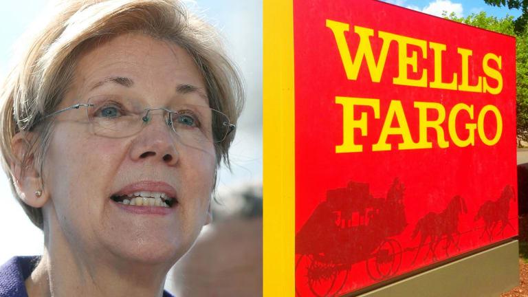 Elizabeth Warren Rekindles Hate-Hate Relationship With Wells Fargo