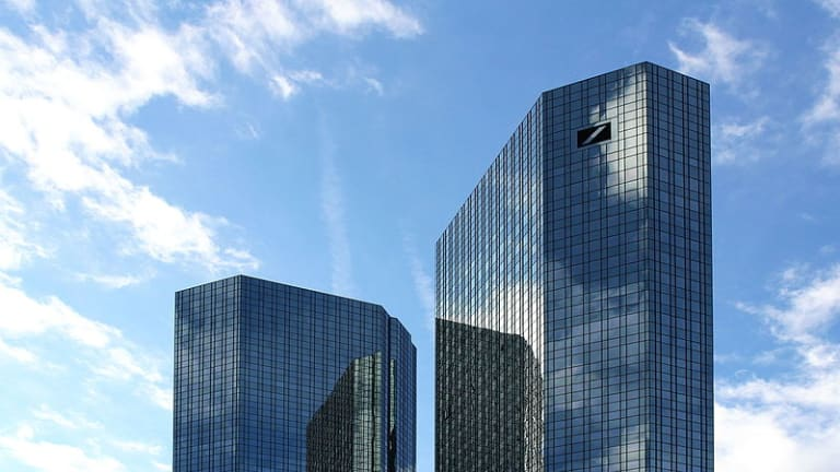What Does Not Kill Deutsche Bank, Uh, Does Not Kill It