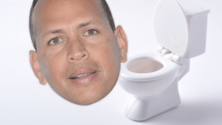 Okay, Which One Of You Hedge Fund Monsters Is Taking Pictures Of A-Rod On the Toilet?