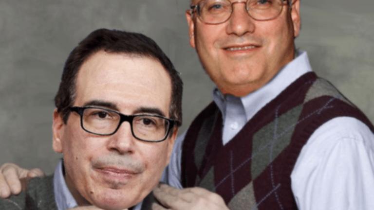 Steve Mnuchin's Dad Bought Steve Cohen A $91 Million Bunny