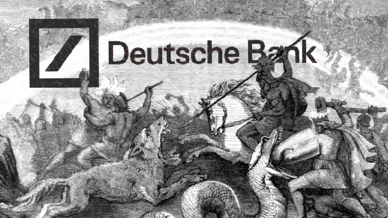 Deutsche Bank Somehow Still A Thing That Exists