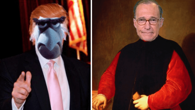 Donald Trump Officially Trying To Kill Larry Kudlow