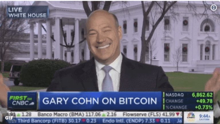 Gary Cohn Won't Give It Up