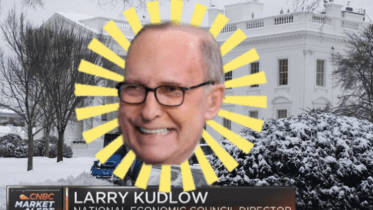 Larry Kudlow Proclaims Coronavirus Epidemic Fake News, Markets Promptly Resume Tanking