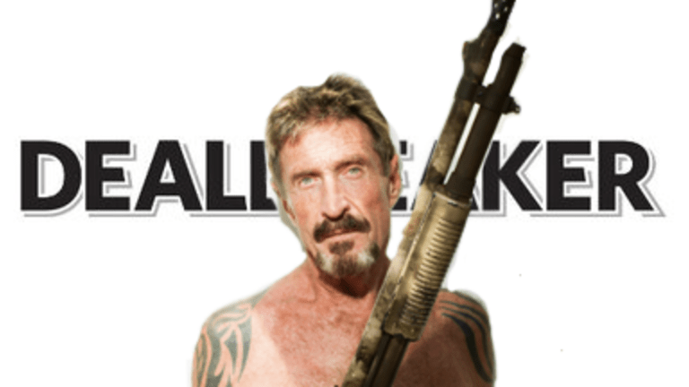John McAfee Is Coming Home