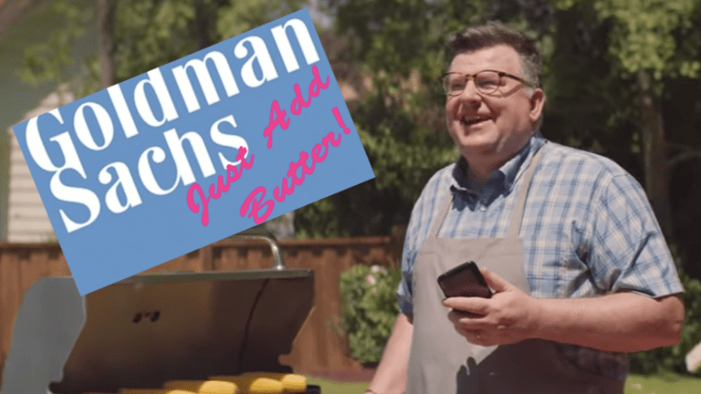 Goldman Sachs Launches Marcus Ad Campaign Ostensibly Aimed At Dumb Assholes Stuck In Low-Yield CDs