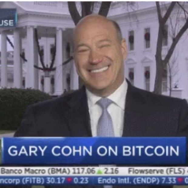 gary cohn shrug