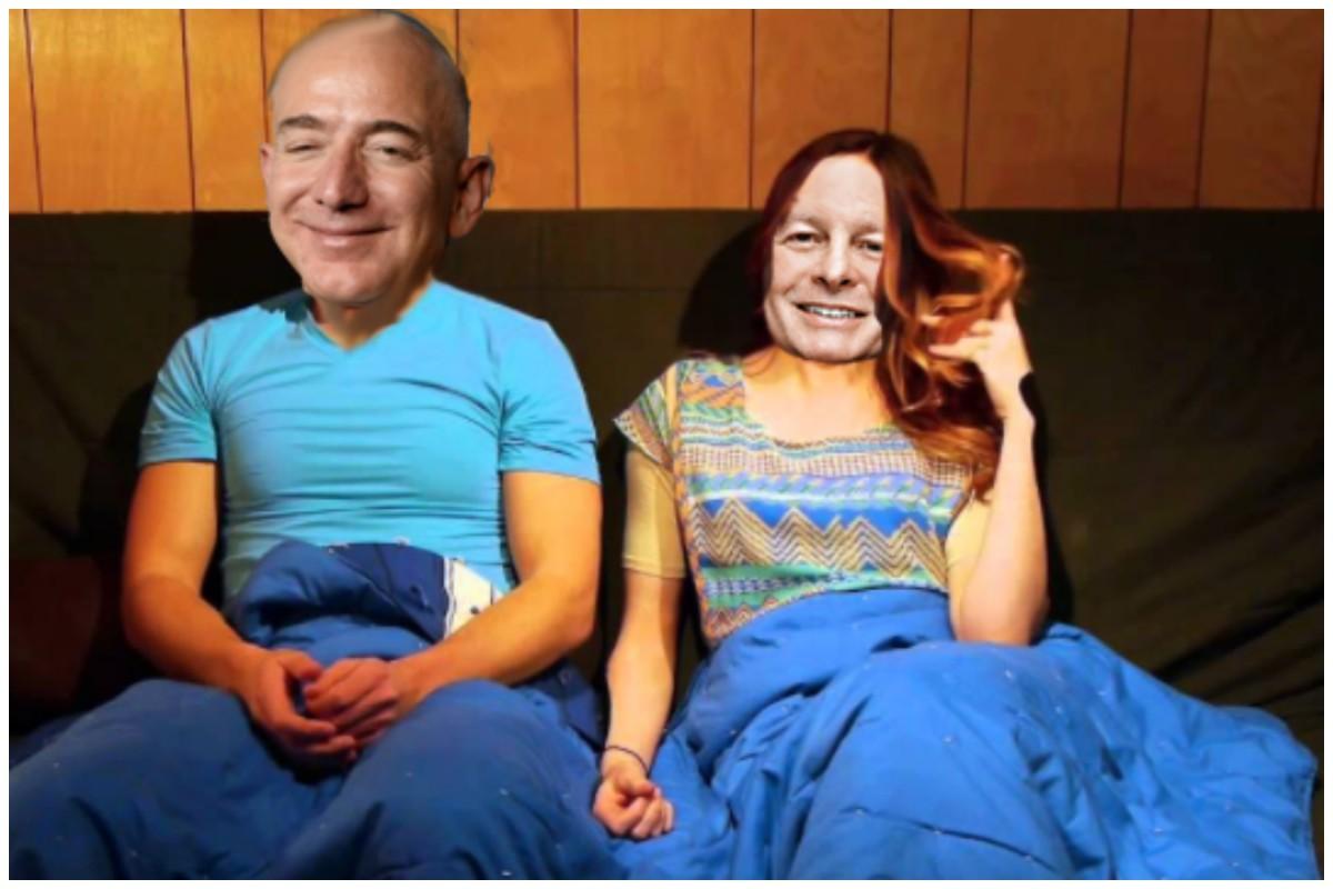 BezosMackey.Flirting