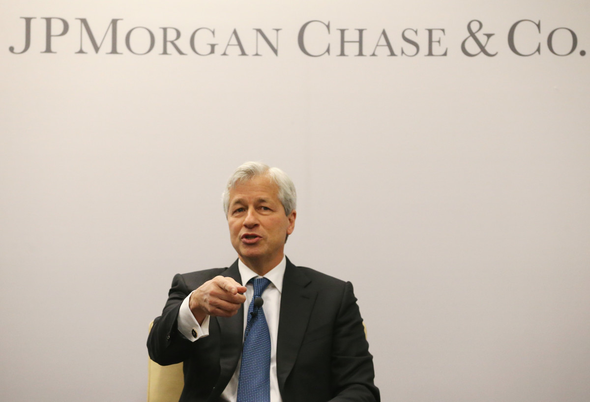 Jamie Dimon, chairman and CEO of JPMorgan Chase(Getty Images)