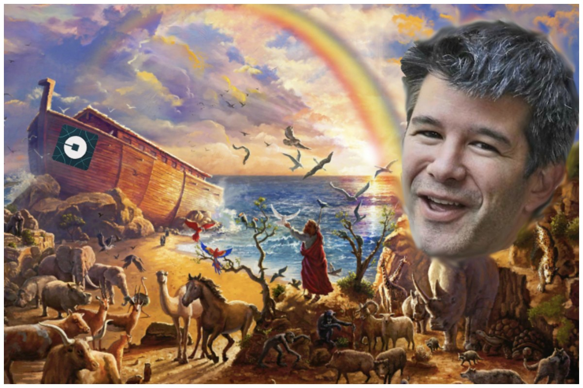 Travis Kalanick Is No Longer The CEO Of Uber Because He Owed Way Too