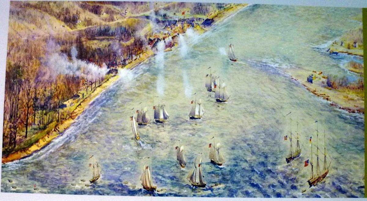 Saba Capital naval forces sack Toronto. By Owen Staples [Public domain], via Wikimedia Commons