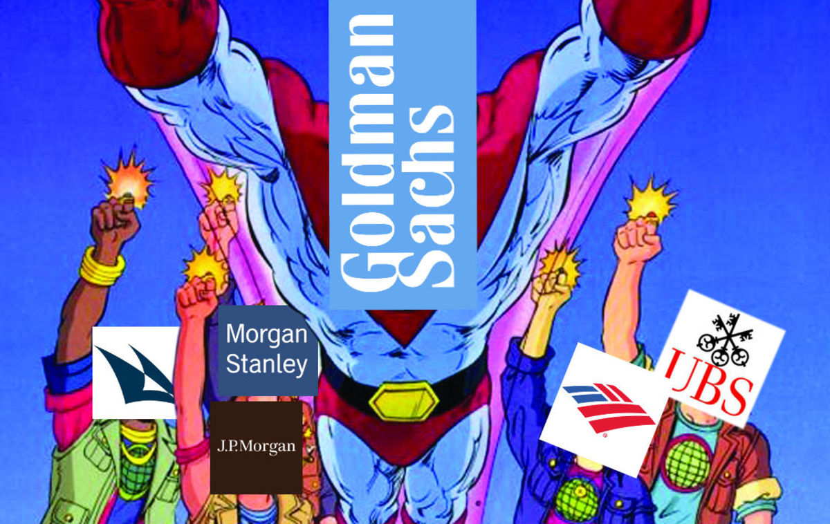 Pensions Accuse Morgan Stanley, Goldman Sachs Et Al Of Being Just A
