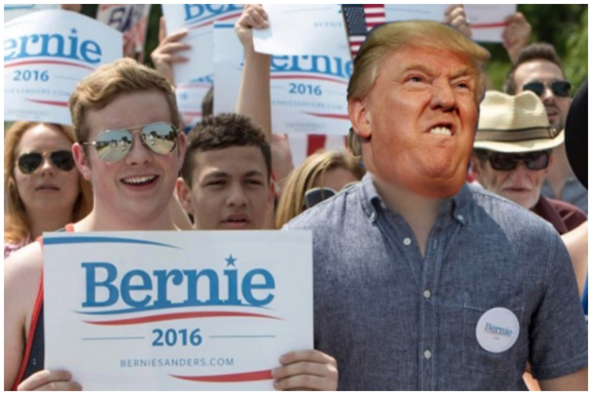 Trump Bernie Bro