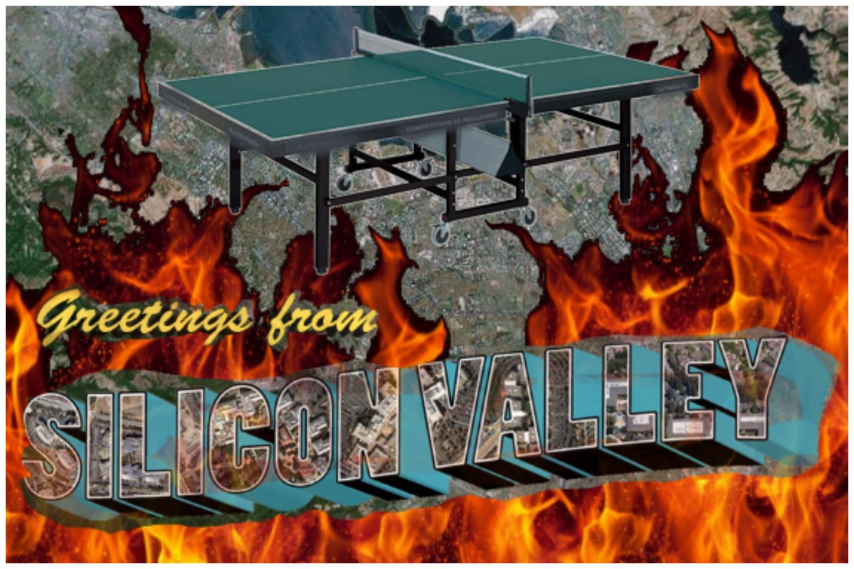 silicon valley ping pong fire