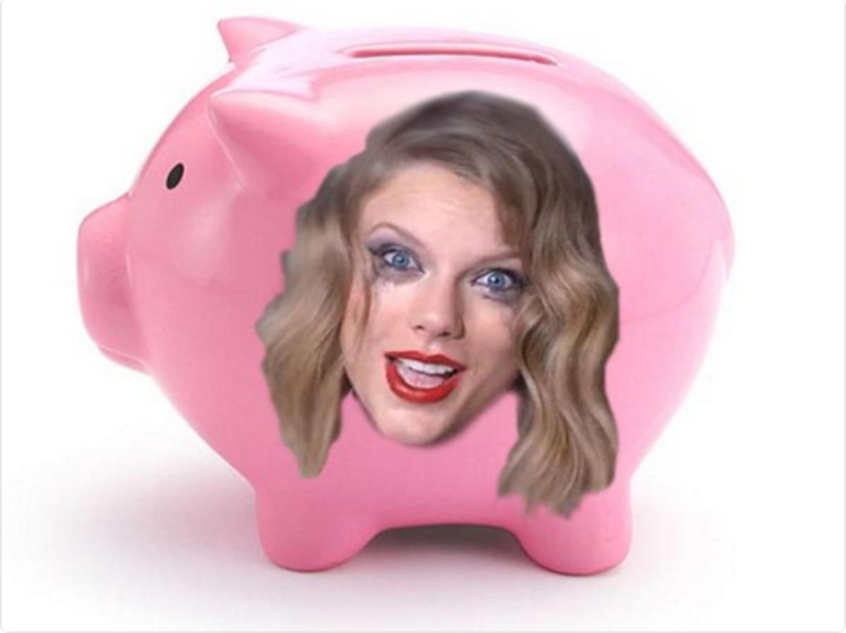 TaylorSwiftPiggyBank