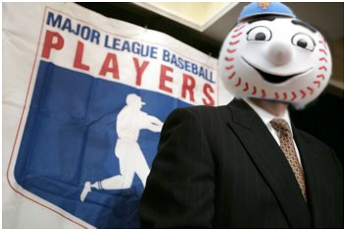 online store f4100 a1207 The Players Should Have Elected Mr. Met To Head MLBPA ...