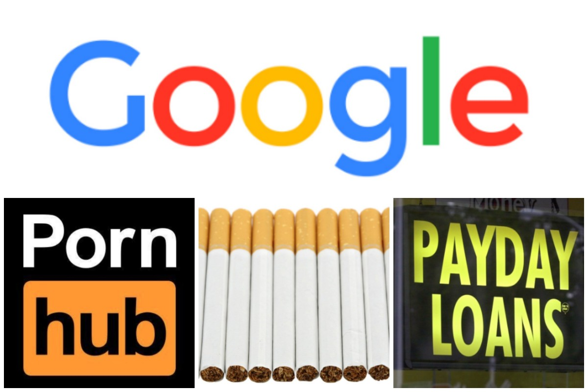 Payday Porn google's ad policy makes payday loans the pornography