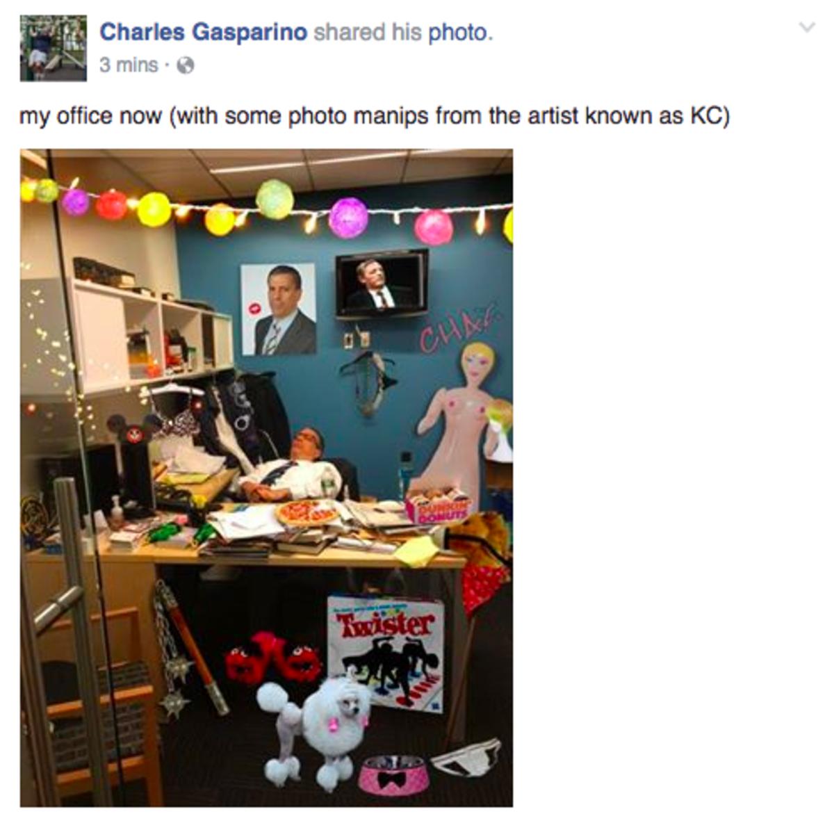 charlie gasparino office