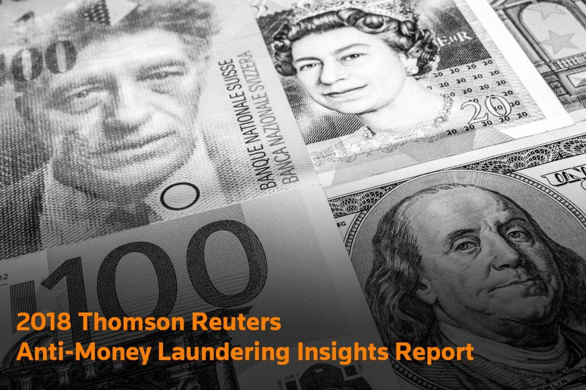 2018 Thomson Reuters AML Insights Report Image