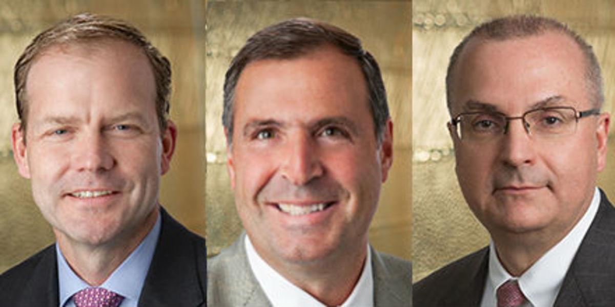 Trey Loughran, Rudy Ploder and John Gamble