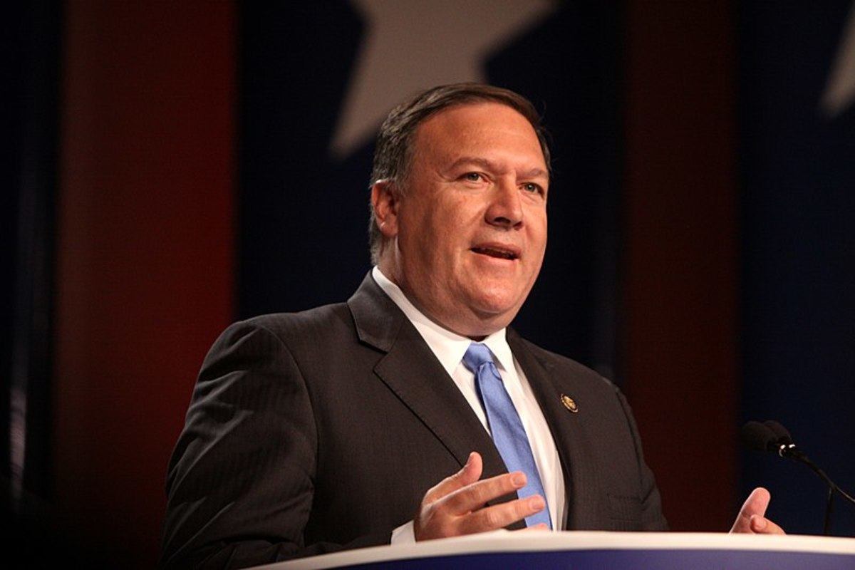 By Gage Skidmore from Peoria, AZ, United States of America (Mike Pompeo) [CC BY-SA 2.0 ], via Wikimedia Commons
