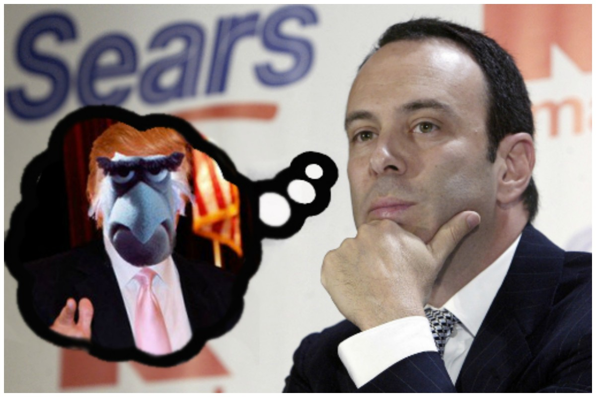 Someone Give Eddie Lampert A White House Job Before He Loses