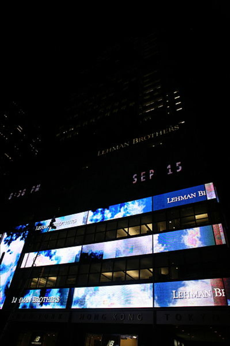 By Robert Scoble (Lehman Brothers headquarters in NYC) [CC BY 2.0], via Wikimedia Commons