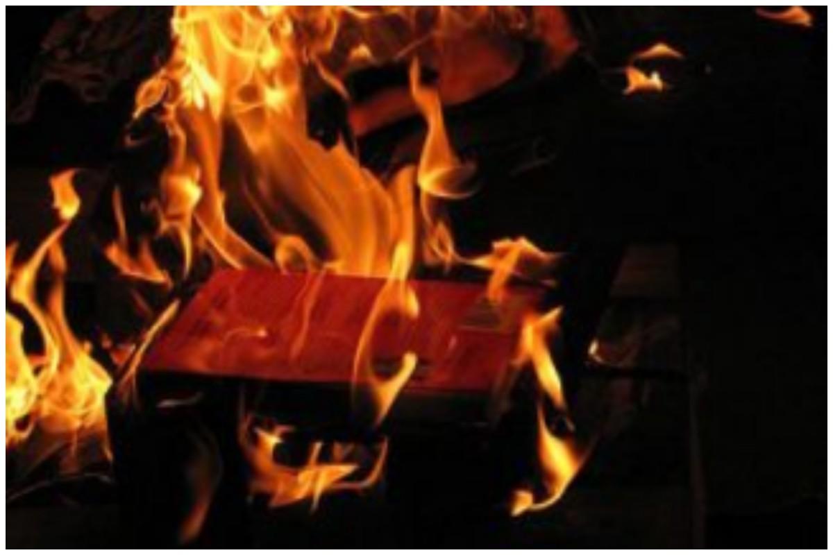 burningphone